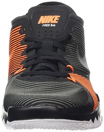 Nike Free Trainer 3.0 V4 - Zapatillas para hombre Black/Black-Tmbld Gry-Ttl Orng