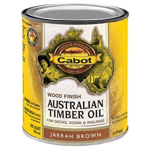 CABOT SAMUEL INC 19460-05 AusTim QT BRN WD Finish - Wd Wood Finishes