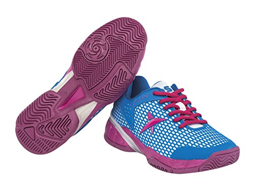 Drop Shot Ultraboost, Zapatillas Deportivas para Mujer, Azul/Rosa, 37 EU: Amazon.es: Zapatos y complementos