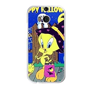 The best gift for Halloween and ChristmasHTC One M8 Cell Phone Case White Halloween tweety bird RPR4001723