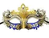 Masquerade Mask Fancy Dress Costume Party Face Masks Metal Rhinestones