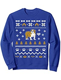 Bulldog Ugly Christmas Sweater Xmas