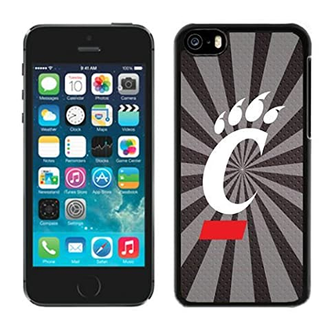 American Athletic Conference Cincinnati Bearcats NCAA AAC iPhone 5C Case Cover (Cheap Speck Case For Iphone 5c)