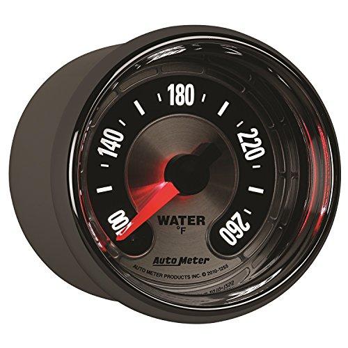 Auto Meter 1255 American Muscle 2-1/16'' Water Temperature Gauge by Auto Meter