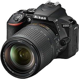 Nikon D5600 24.2 MP DX-Format DSLR Camera w/AF-S 18-140mm f/3.5-5.6G ED VR Lens – (Renewed)