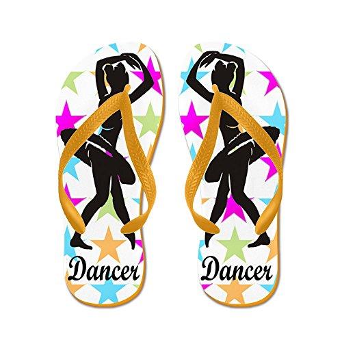 e79a9e0f8b8a free shipping CafePress - DANCING QUEEN - Flip Flops