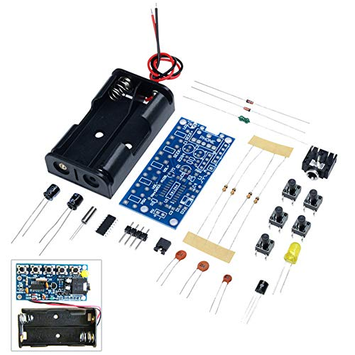 - Onyehn DIY DC 1.8V-3.6V DIY 76MHz-108MHz Wireless Stereo PCB FM Radio Receiver Module Electronic Learning Kits