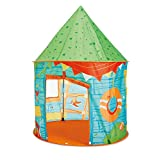 Kidoozie G02531 My Clubhouse Playhouse Tent with Front Door Flap and 1 Windows