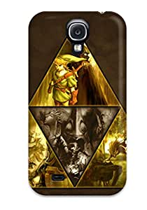 The Legend Of Zelda Triforce Case Compatible With Galaxy S4/ Hot Protection Case