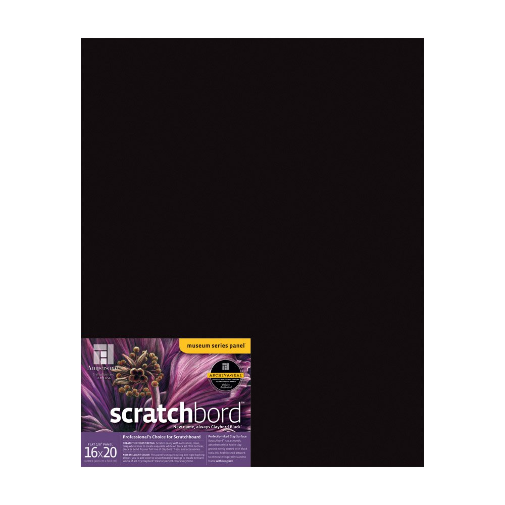 5 X 7 3 Per Package BHBU0503A1412 Ampersand Scratchboard