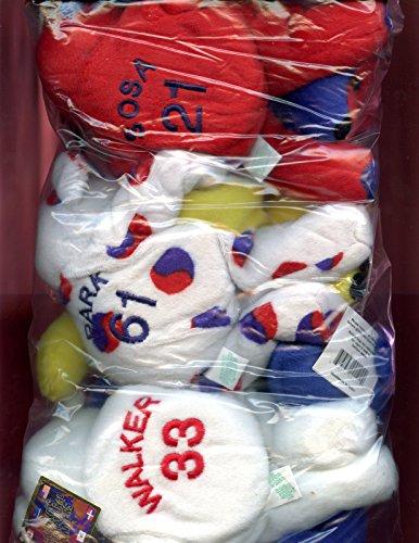 Salvino Salvino's International Bammers Set Baseball Stuffed Animal Bear Mark McGwire