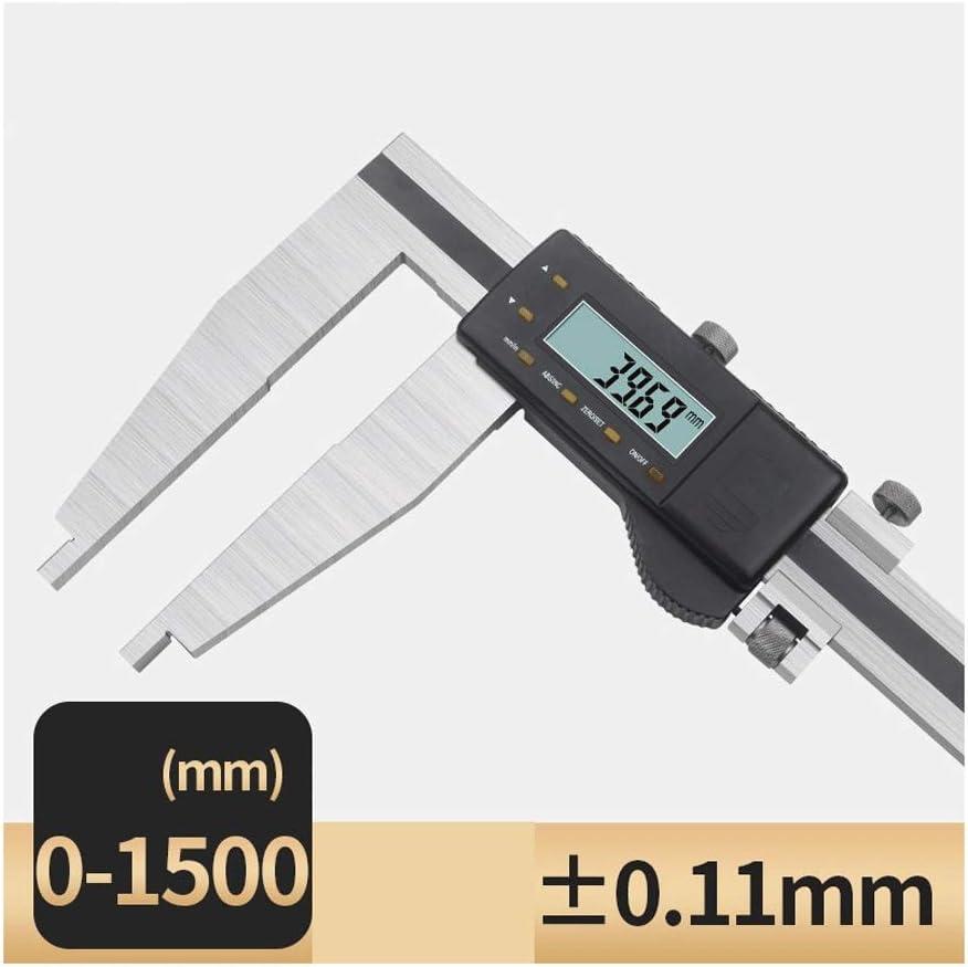 Pied /À Coulisse Pr/écision 0-500-600-1000mm // 1.5 M // 2 M Peut /Être Converti Pied /À Coulisse Size : 0-500mm Affichage Num/érique /Électronique /À Large Plage