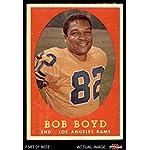 1961 Topps Baseball Stamps Bob Boyd Kansas City Athletics Card