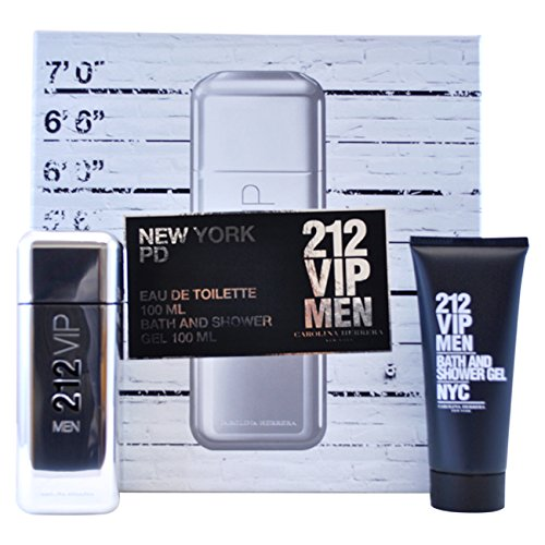 - Carolina Herrera 212 Vip Gift Set for Men