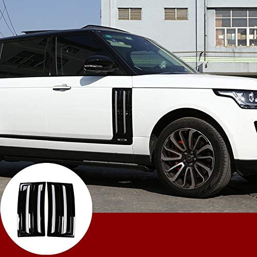 Black Car Door Handle Cover Trim For Land Rover Range Rover L405 Vogue 2013-2019