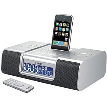 amazon com ihome ip9 speaker dock with clock radio for ipod and rh amazon com ihome ip90 ihome ip90 remote