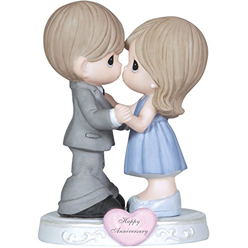 (Precious Moments,  Through The Years, Bisque Porcelain Figurine, 123019)