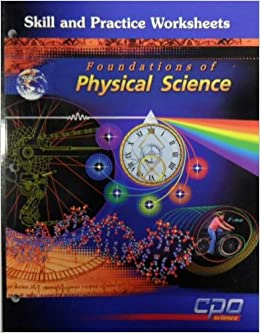 Printables Cpo Science Worksheets skill and practice worksheets foundations of physical science cpo 9781588920324 amazon com books