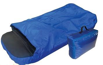 OCamp - Colchón inflable con saco de dormir integrado (para niño, 142