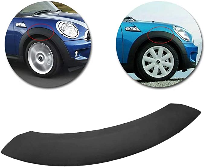 MINI Genuine Cooper S R53 Rear Left Wheel Arch Trim For Bumper Cover Black