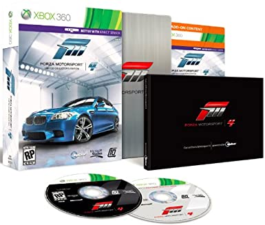 Forza Motorsport 4 Limited Edition Xbox 360 Video Games