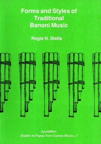 Forms and styles of traditional Banoni music (Apwitihire)