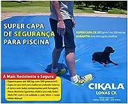 Capa de Segurança E Proteção Piscina 500 gr/m2 5,5x3,5 mts + Kit