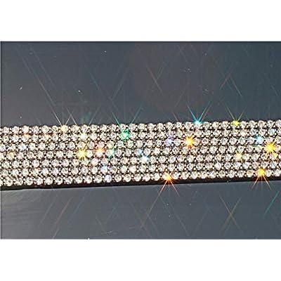 Rhinestone License Plate Frame,2 Pack Luxury Sparkling Diamond Silver License Plate Frames For Women,Waterproof Silver Licenses Plate Frame Silver Bling Glitter Screws & Installation Tool Set (Silver): Automotive
