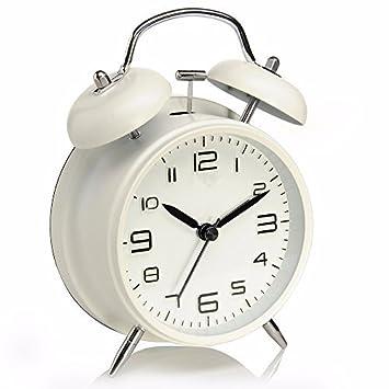 Reloj Despertador, Drillpro Alarm Clock, Clásico Doble Campana ...