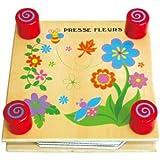 Sapin Malin SM59487 - Jouet Premier Age - Jouet en Bois - Presse à Fleurs pour Herbier