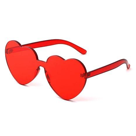 Gafas de sol Aviador Vogue UV Running- Nuevas corazón del melocotón de la  Personalidad - 921c14dd3b