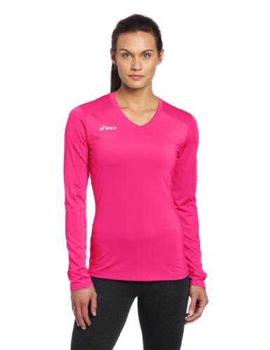 ASICS Roll Shot Jersey, Pink Glow, ()