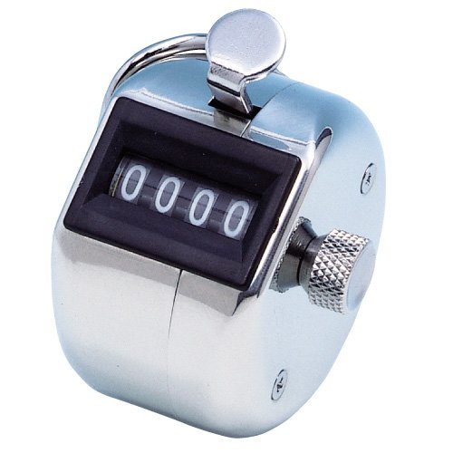 BuyJumpRopes H-102 Stainless Steel Tally Counter