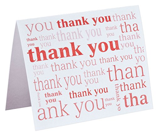 Many Thanks Note Cards Set of 25