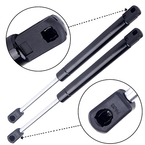 AUTOMUTO SG430022 SG430034 4120 Lift Supports Gas Struts Shocks Springs Replacement Fit for 2000-2005 Chevrolet Impala 1999-2007 Chevrolet Monte Carlo Rear Trunk