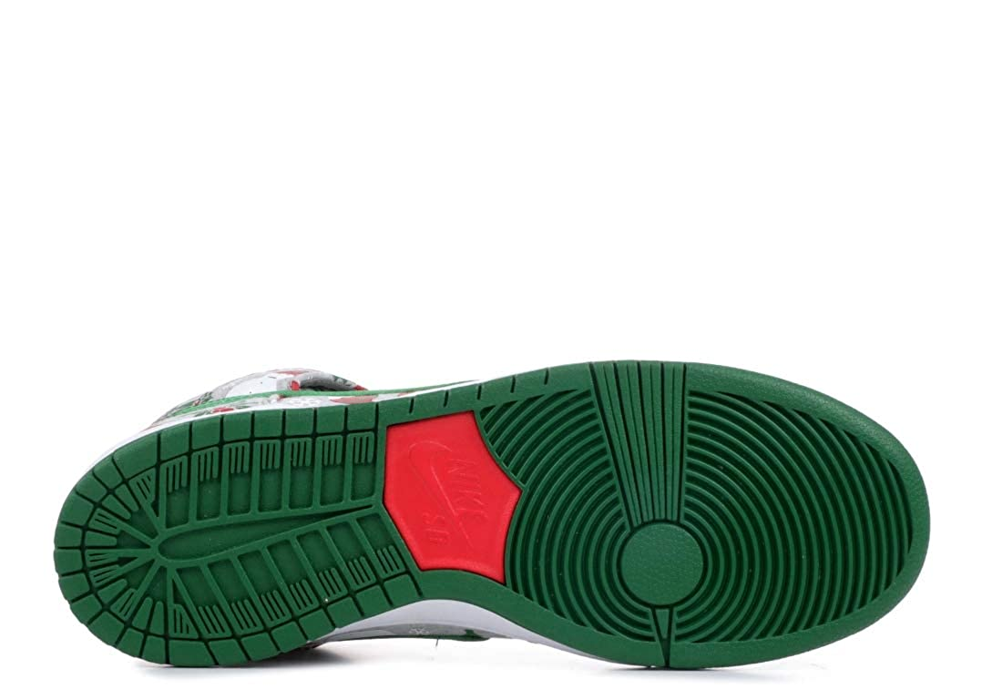 buy online b0b33 d4ec1 Amazon.com | Nike Dunk High SB PRM Ugly Christmas Sweater (635525-036) |  Fashion Sneakers