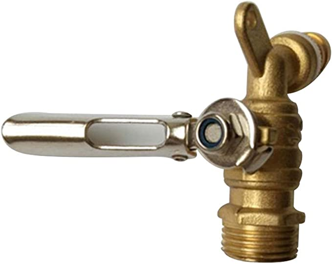 Binet Binet DN15 - Rosca antideflagrante, Accesorios para Fregadero de jardín, riel de refrigeración, Montaje en latón, Herramientas para casa con Cerradura: Amazon.es: Hogar