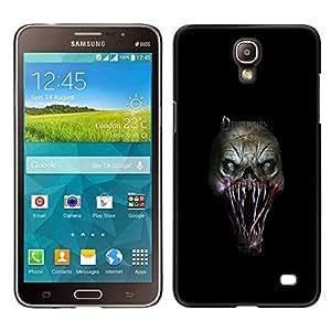Caucho caso de Shell duro de la cubierta de accesorios de protección BY RAYDREAMMM - Samsung Galaxy Mega 2 - Evil Monster Gore
