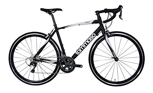 Tommaso Monza Aluminum Shimano Tiagra Road Bike with a Carbon Fork