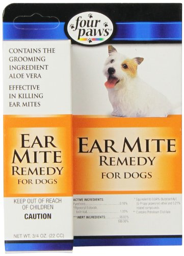 Four Paws Dog Ear Mite Remedy, 0.75oz](Four Paws Grooming Scissors)