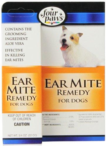 - Four Paws Dog Ear Mite Remedy, 0.75oz