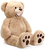 Brumsfeld the Bear | 5 Foot Stuffed Animal Jumbo Big Lifesize Huge Giant Large Plush Teddy | Shipping from Pennsylvania | By Tiger Tale Toys