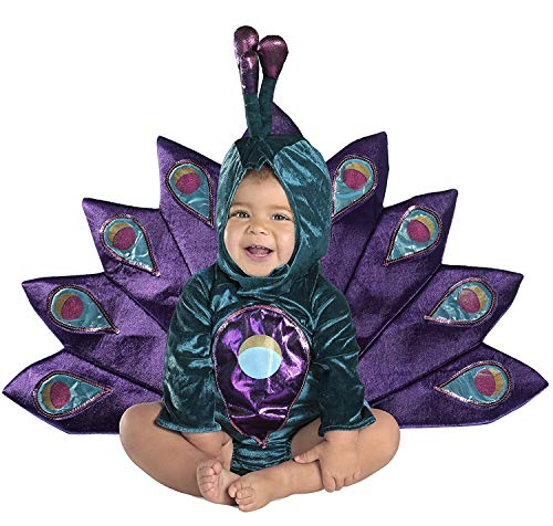 Princess Paradise Baby's Baby Peacock Deluxe Costume, As Shown, 12 to 18 Months