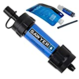 Sawyer Products SP128 Mini Water Filtration System, Single, Blue (Sports)