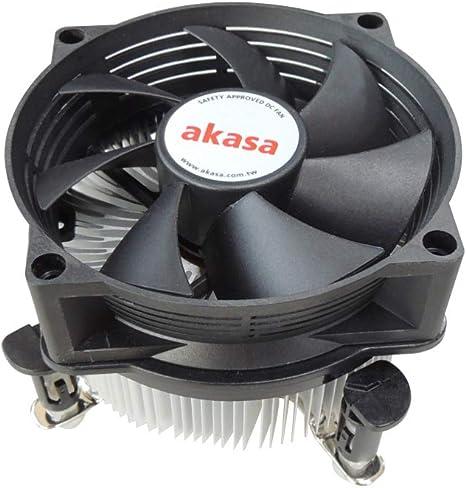 Akasa AK-955V2 - Ventilador de CPU para Intel LGA775 y LGA115x: Amazon.es: Informática