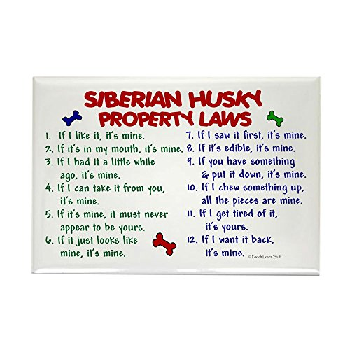 CafePress Siberian Property Rectangle Refrigerator