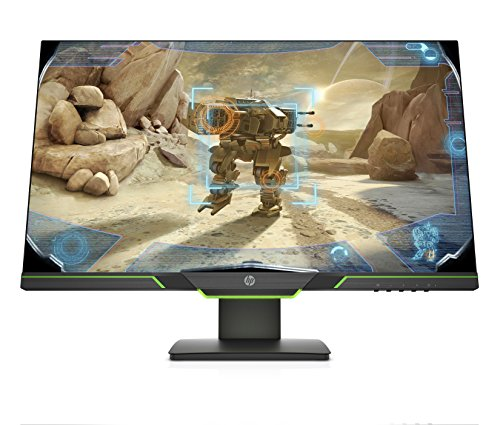 HP 27-Inch Ultra WQHD Monitor with AMD Freesync Technology, (Black)