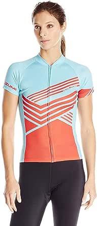 Pearl iZUMi - Ride Women's LTD MTB Jersey, Zig Zag Mandarin Red, Medium