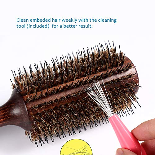 Buy boar bristle round brush for fine hair