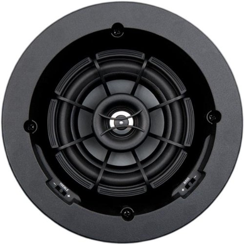 "SpeakerCraft Profile AIM5 Three 5-1/4"" In-Ceiling Speaker (Each) Black ASM55301"